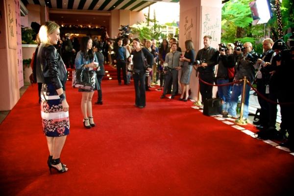 Lubov Azria THR Women in Entertainment Event